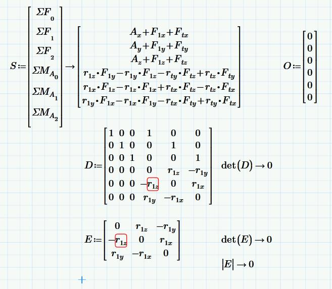 Re 3d Statics Symbolic Vectortensor Solving Ptc Community
