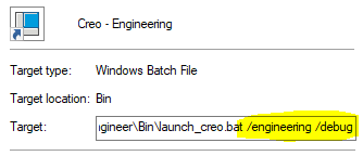 Launch Creo Shortuct.png