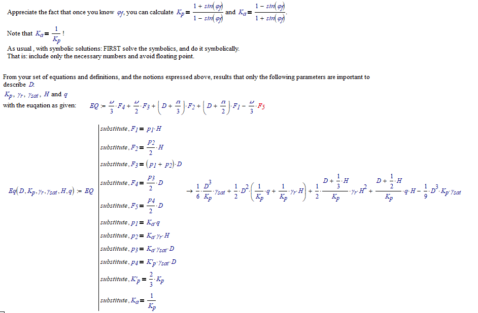 Solved Re Symbolic Equation Ptc Community