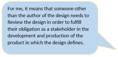 Design Review Definition