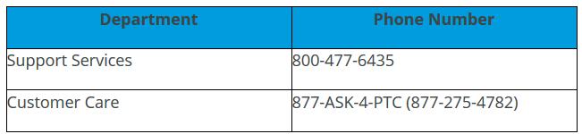 PTC Phone Numbers.PNG